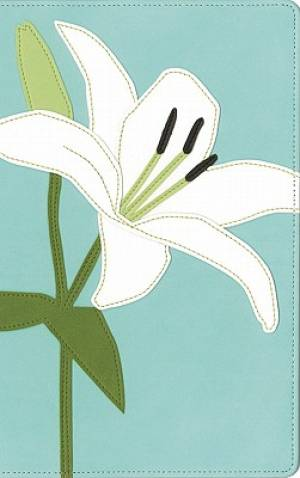 KJV Thinline White Lily Bible