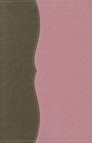 NASB Classic Reference Bible: Chocolate/Berry Cr�me, Imitation Bible