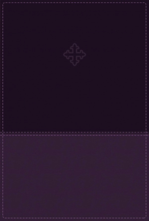 Amplified Study Bible, Imitation Leather, Purple