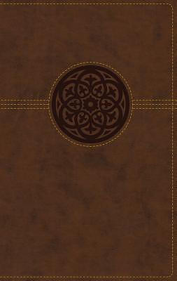 NRSV, Thinline Reference Bible, Large Print, Leathersoft, Brown, Comfort Print