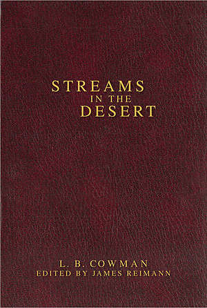 Streams In The Desert Hb