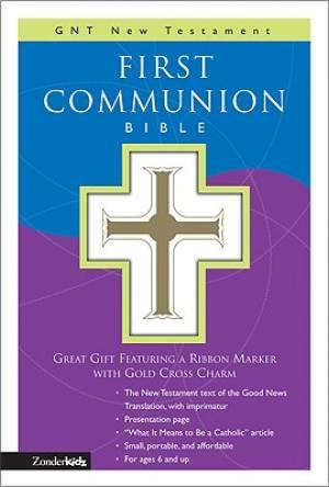 Good News1st Communion Bible White Imitation Leather