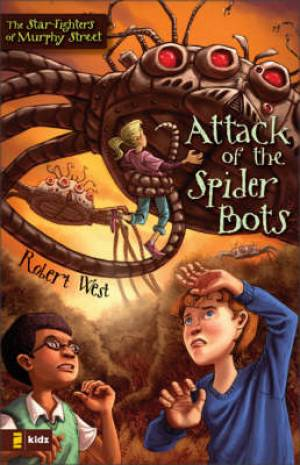 Attack Of The Spider Bots Pb
