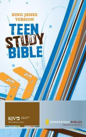 KJV Teen Study Bible: Hardback