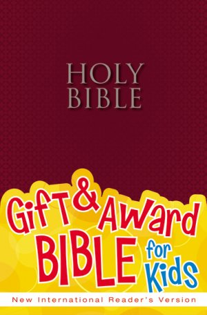 NIrV Gift and Award Bible: Burgundy, Paperback