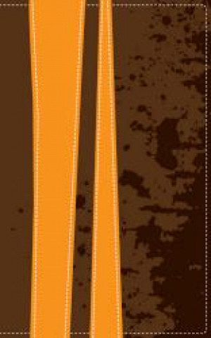 KJV Teen Study Bible: Burnt Orange & Fudge, Italian Duo-Tone