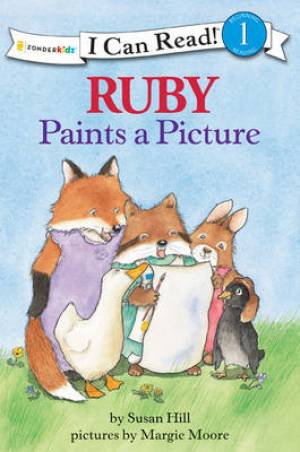 Ruby Paints A Picture Pb