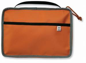 Reversible Cover Orange Gray Large