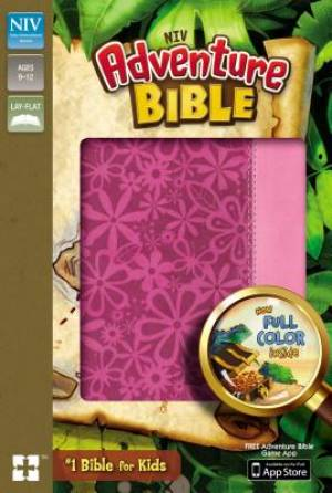 NIV, Adventure Bible, Imitation Leather, Pink, Full Color