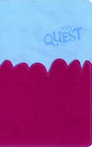 NIrV Kids Quest Study Bible: Blue/Pink, Imitation Leather