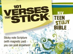 101 Verses that Stick for Teens based on the NIV Teen Study Bible