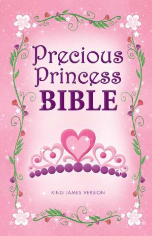 KJV Precious Princess Bible Pink Hardback