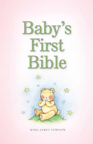 KJV Baby's First Bible Pink