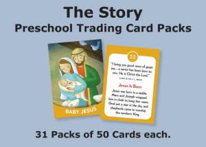 The Story Trading Cards Church Pack: For Preschool