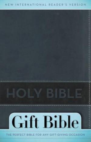 NIrV, Gift Bible, Imitation Leather, Blue