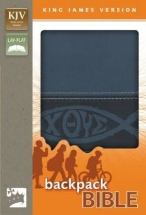 Kjv Backpack Bible Blue Fish Lhtlk