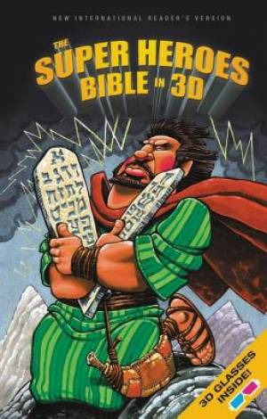 NIrV, The Super Heroes Bible in 3D, Hardcover