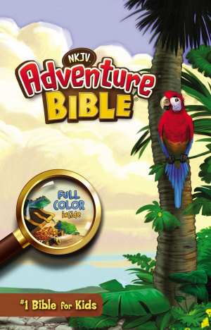 NJKV Adventure Bible for Children : Hardback