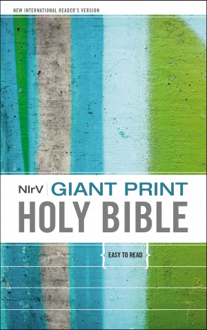 Giant Print Holy Bible, NIrV