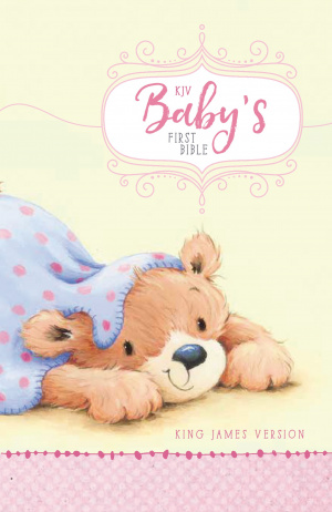 KJV Baby's First Bible, Hardcover, Pink