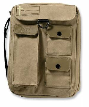 Single Compartment Cargo Khaki Large