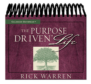 Daybreak Purpose Driven Life Calendar