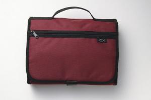 Tri-Fold Organiser: Cranberry, Large