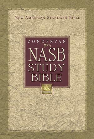 NASB Study Bible: Burgundy, Bonded Leather, Thumb Index