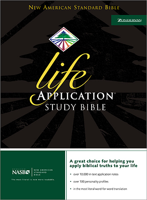NASB Life Application Study Bible: Burgundy, Bonded Leather, Thumb Indexed