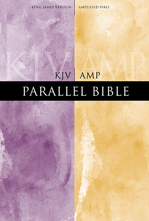 KJV / Amplified Parallel Bible: Hardback, Large Print