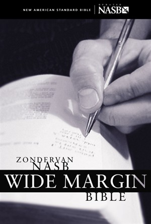 NASB Wide Margin Bible: Burgundy, Bonded Leather