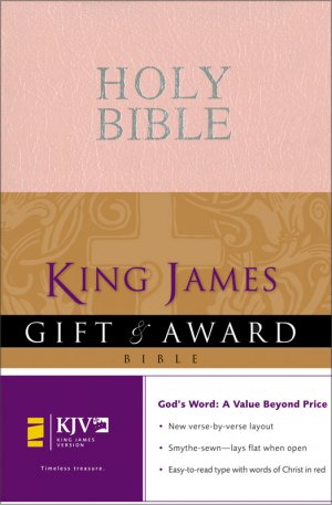 KJV Gift and Award Bible: Pink, Leather-look