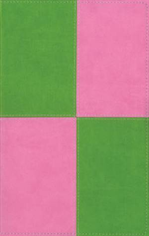 KJV Thinline Bible: Meadow Green/Pink, Imitation Leather