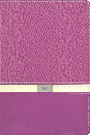 KJV Compact Reference Bible: Orchid & Butter Creme, Italian Duo Tone