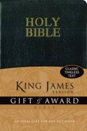 KJV Gift & Award Bible Imitation Leather Black