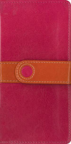 King James Version Trimline Bible: Pink, Imitation Leather