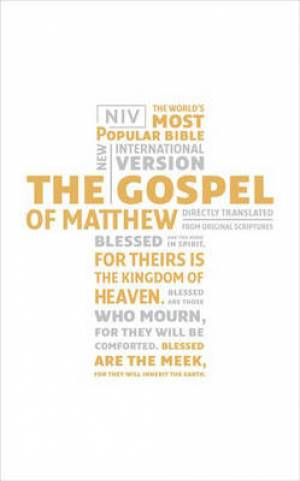 NIV Gospel of Matthew Individual