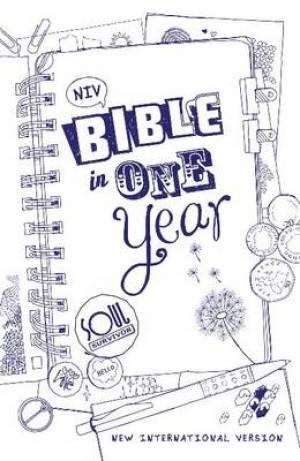 NIV Soul Survivor Bible in One Year: Hardback