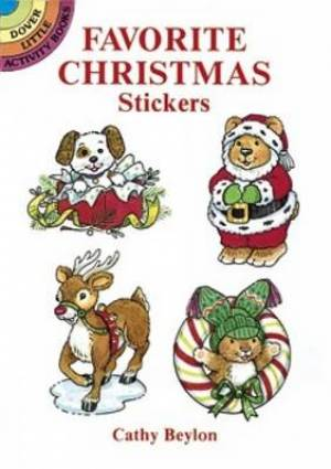 Favourite Christmas Stickers