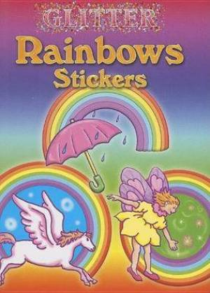 Glitter Rainbows Stickers