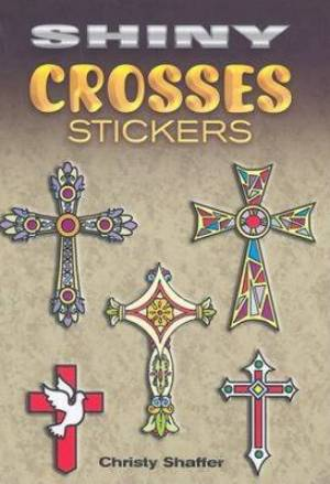 Shiny Crosses Stickers