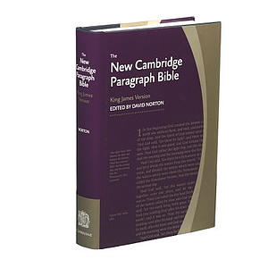 KJV New Cambridge Paragraph Bible: Hardback