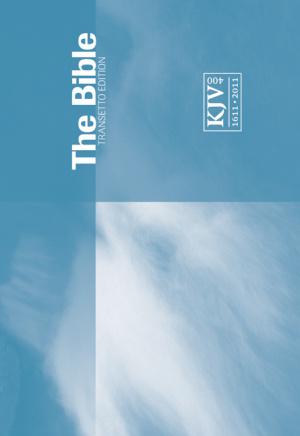 KJV Transetto 'Landsape' Text Pocket Bible Paperback Blue