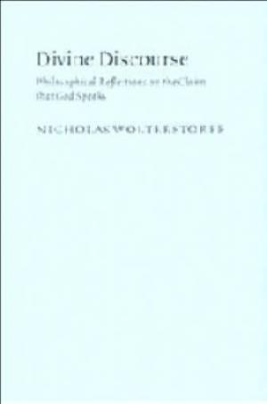 Divine Discourse Philosophical Reflectio
