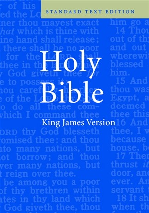 KJV Standard Text Bible: Blue, Hardback