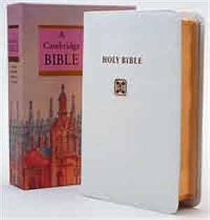 NIV Pocket Cross-Reference Bible: White, French Moroccan Leather, Anglicised