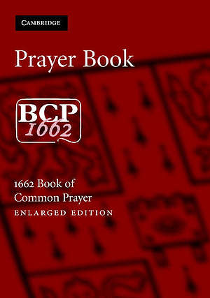 Book of Common Prayer Enlarged Edition: Burgundy Imitation Leather