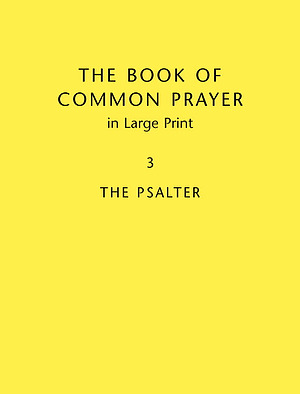 Book of Common Prayer Vol 3 Large Print