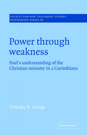 Power Through Weakness