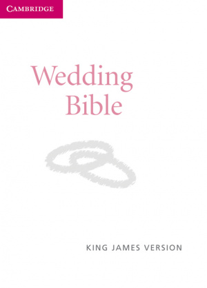 KJV Wedding Bible: White, Imitation Leather